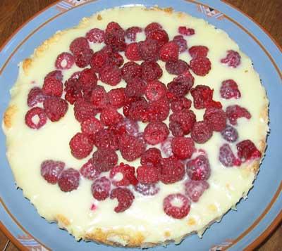Raspberry Velvet Torte